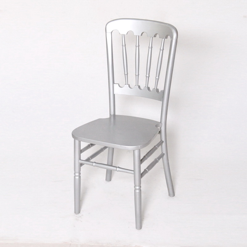 Wholesale Cheap Silver Hotel Wood Banquet Dining Chairs