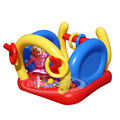 PVC Small Inflatable Ball Pit Toy-8103 4 in 1 Magic Playground