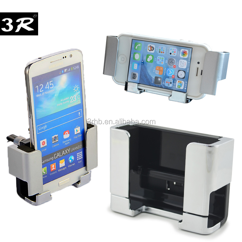 Cell phone mobilephone accessory dashboard windsheild stand clip and universal air vent car mount holder