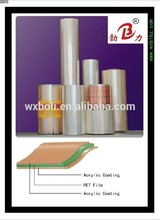 best price pet film jumbo roll With CE and ISO9001 Certificates