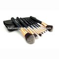 Latest product super quality synthetic wholesale makeup brush set
