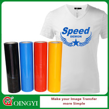 QingYi best quality heat transfer vinyl film for t-shirt