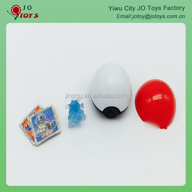 Hot Sale 2016 New Design Pokemon Ball With Pokemon Toy