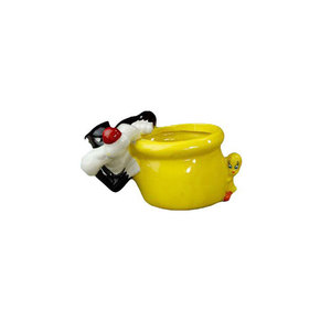 New online Wholesale Ceramic Cartoon Pen Holder