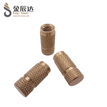 Knurled thumb car parts in industrial machinery nut