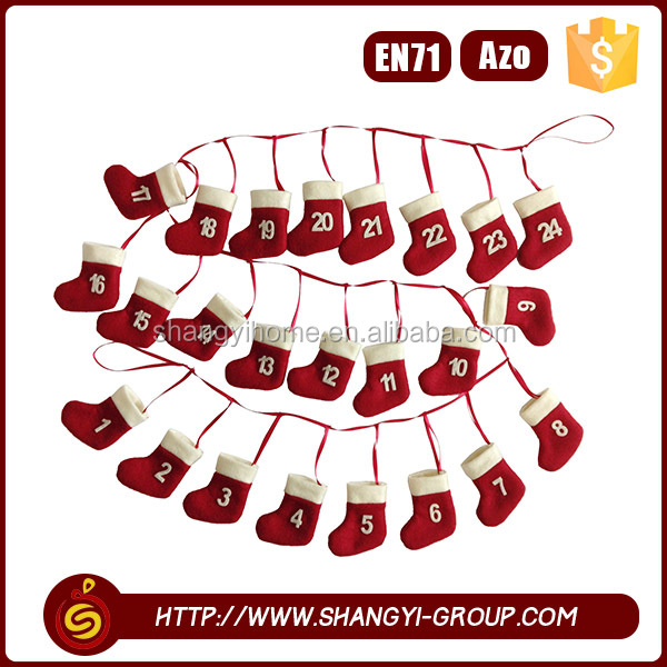2016 Nice-looking hanging garland decoration home ornament christmas
