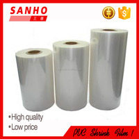 packaging and clear pvc tube shrink film