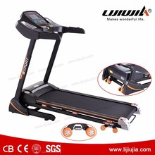 automatic exercise machine fitness outdoor treadmill with big handle