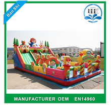 Cheap inflatable jumping castle, inflatable bouncer castle, inflatable fun house