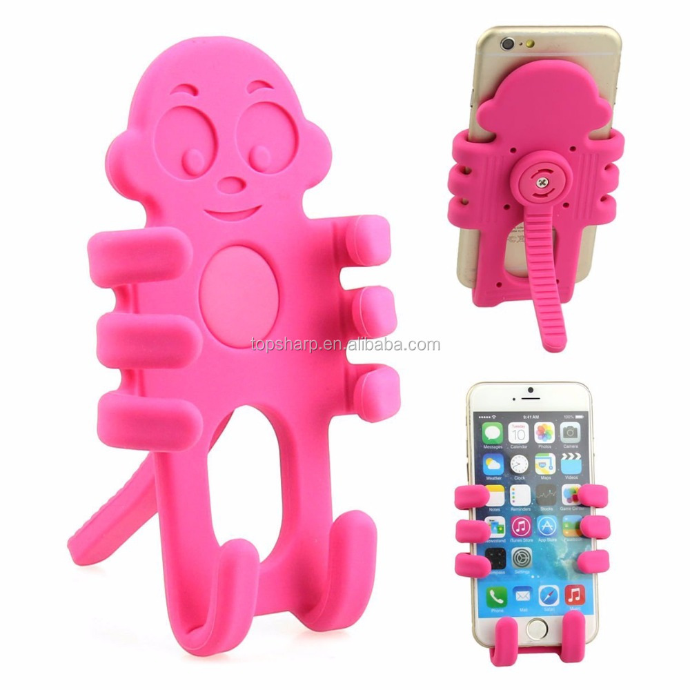 Multifunctional monkey Car Mount Holder for smart phone and tablet car air vent