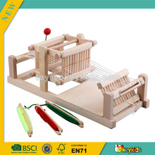 wholesale popular wooden children loom toy,role play children wooden loom toy and hot sale children wooden loom toy W10D002