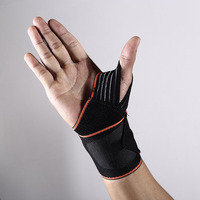 Sports winding pressure band fitness bandage weightlifting wrist brace