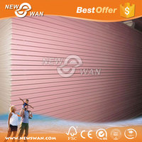 12MM pink fireproof gypsum board / Fire rated gypsum drywall