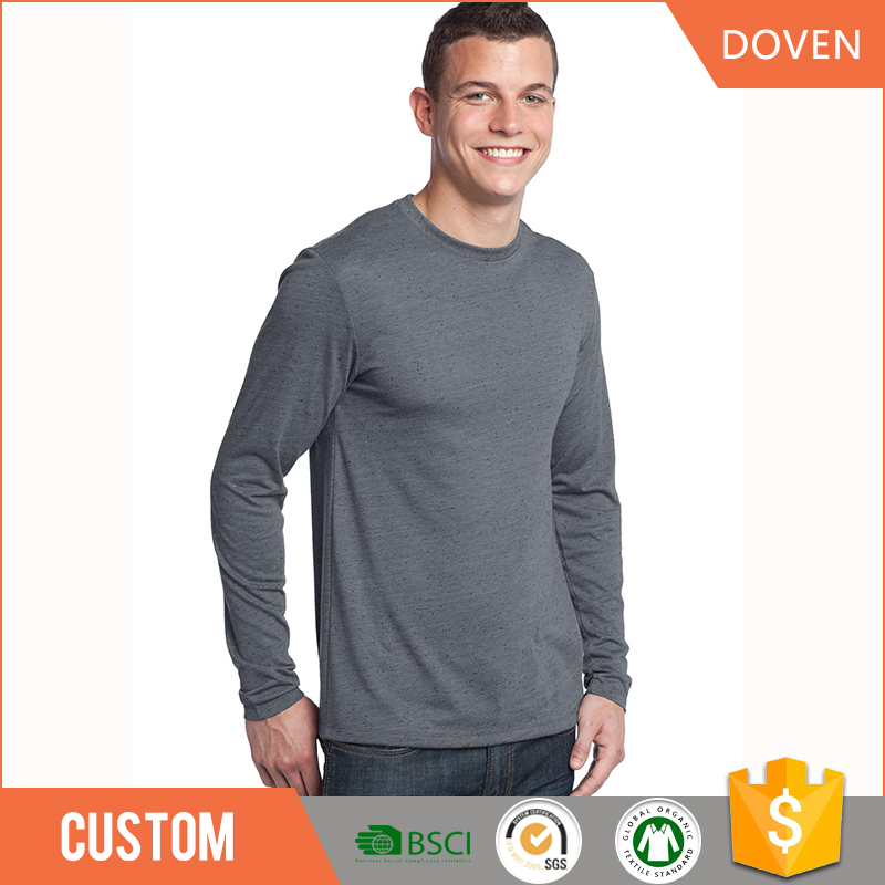 Custom good quality mens long sleeve shirts
