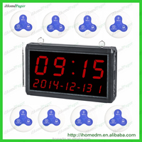 Restaurant Supplies Display Time Function Bar Waiter Pager Bar System