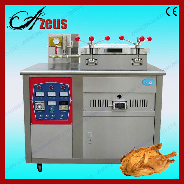 Stainless steel pressure frying machine for chicken/meat/food
