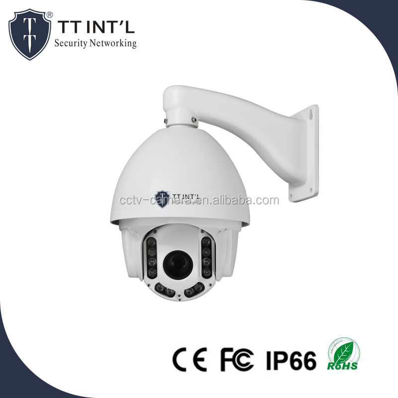 10X Optical Zoom 360 Degree Endless IP PTZ Speed Dome Camera with Onvif