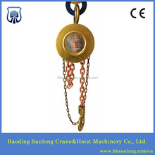 HBSQ type Explosion proof manual hoist cranes