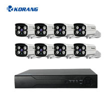 8 Channel 1080P Outdoor AHD Security Camera System 8CH 2.0 Megapixel H.264 P2P Cloud AHD CCTV DVR Kit