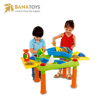 Big promotion sandbox beach sand and water play table toys and hobbies