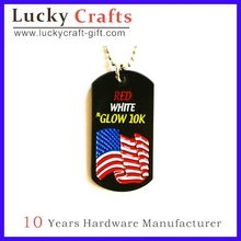 name badge letter dog tag made in Zhongshan ,China