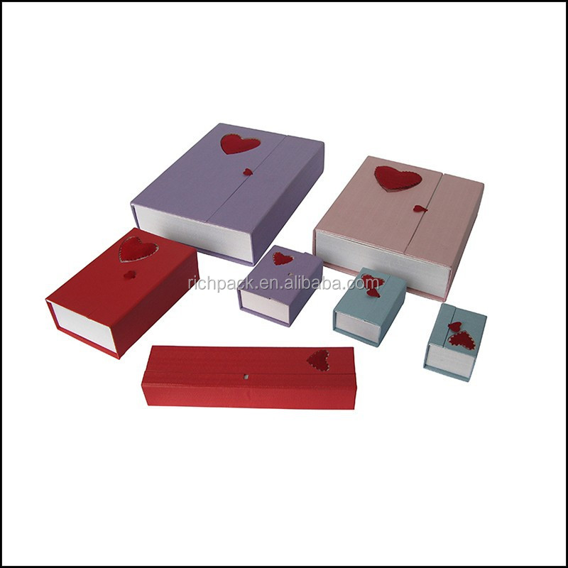 China Supplier Fancy paper Jewelry Box packaging