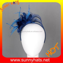 Fashion Elegant Women Royal Wedding Hat Hair Clip Accessory Wholesale Made In China