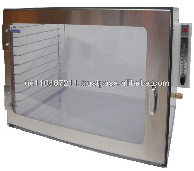 Cleatech Desiccator, Single Door, Clear Acrylic