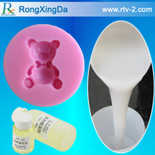 Good tear resistance liquid silicone rubber for craft mold making