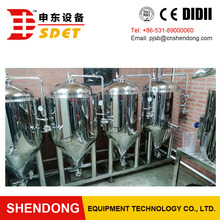 200l conical fermentation tank/glycol cooling jacket commercial fermenters for hot sale