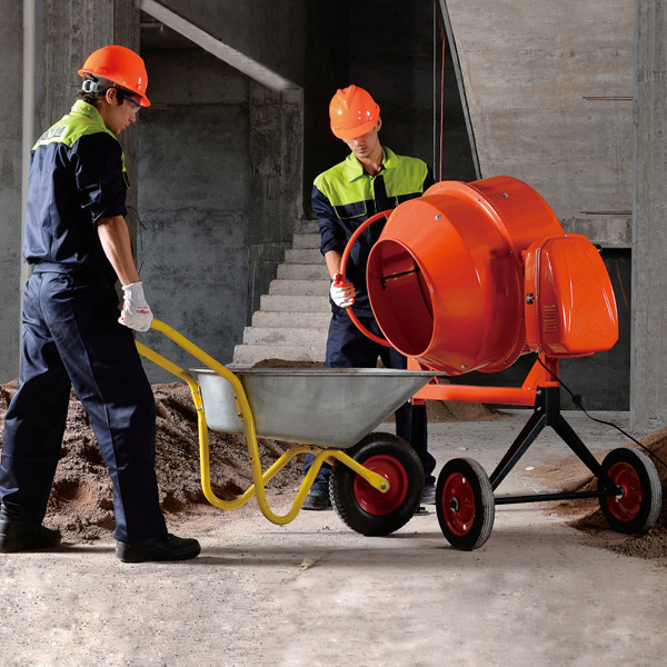 CM120-700 small type barrow concrete mixer with high quality