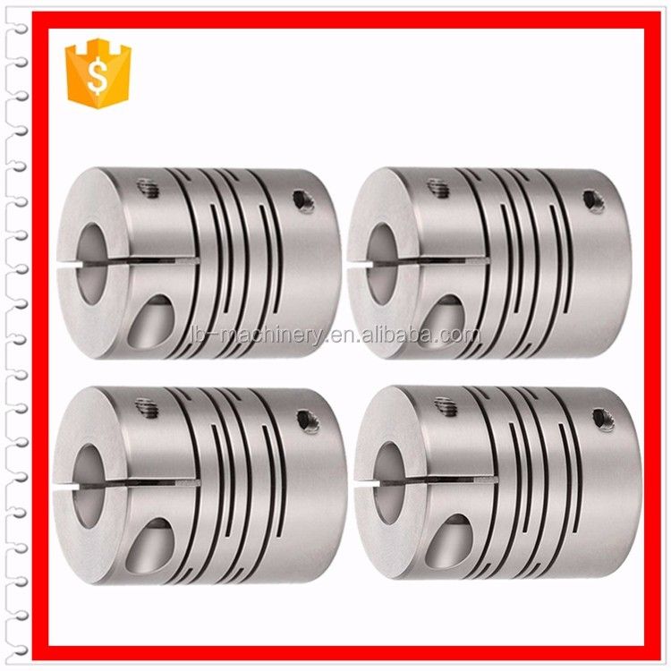 Factory high strength aluminum alloy helical coupling used in step mators