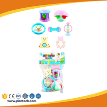 hot sale EN71 cheap cool shake rattle set rattle toy for baby gift