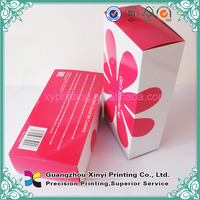 Olive oil cosmetic tube paper cosmetics box perfume box