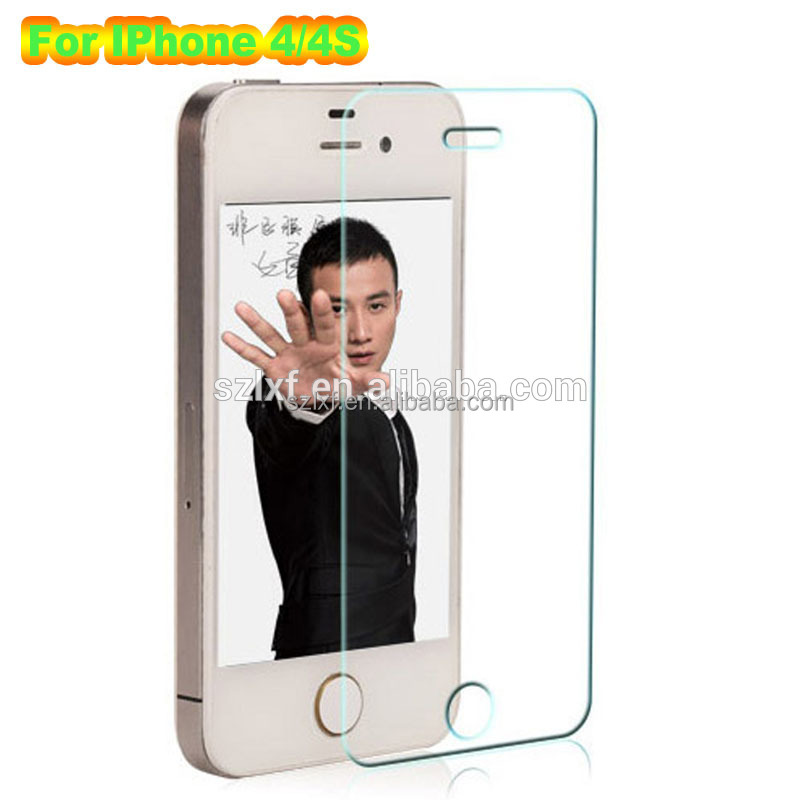 For IPhone 4/4s tempered glass screen protector