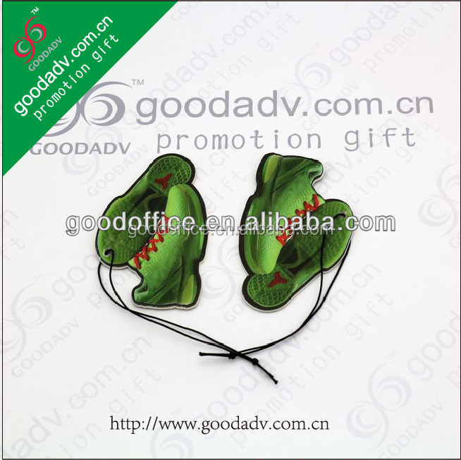 Hot sale Basketball shoes design solid car air fresheners wholesale