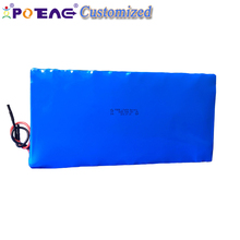 OEM wholesale customized lifepo4 26650 20ah 36v rechargeable lithium ion golf car battery packs sale for e-bick kit