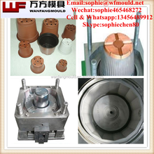 China taizhou huangyan mold for 2017 new model plastic flower pot mould