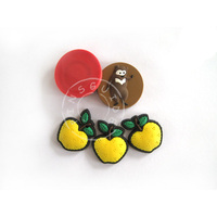 lovely animal/fruit 3d soft pvc fridge magnet