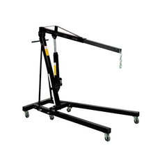 Factory price mini 1 ton folding mobile crane for car engine lift