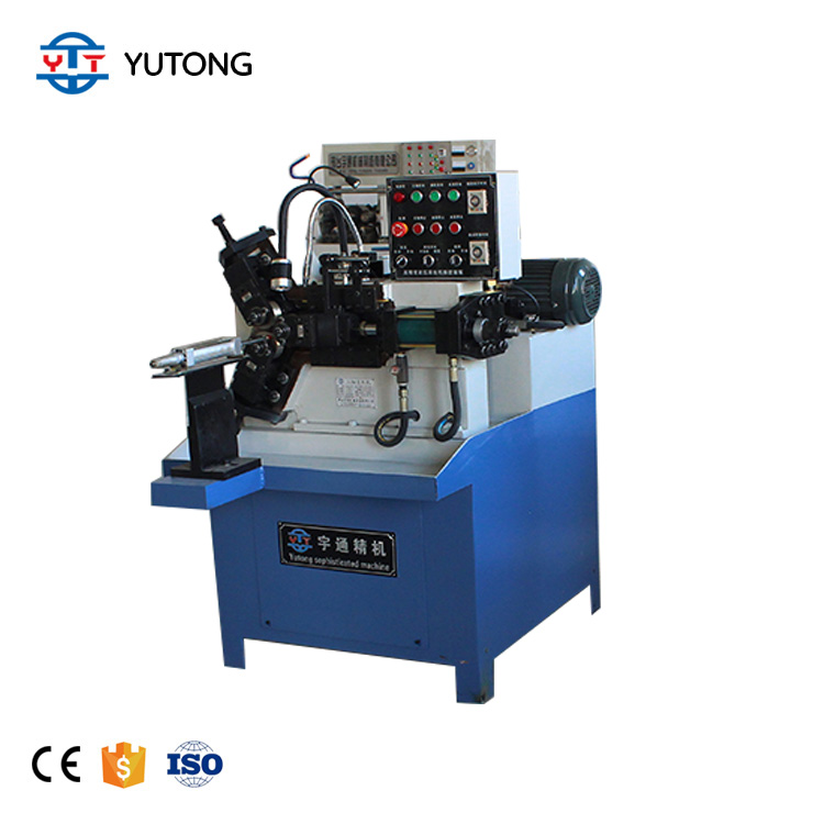 High speed thread rolling machine Automatic Three Axis Tube thread rolling machine Automatic thread rod making machine
