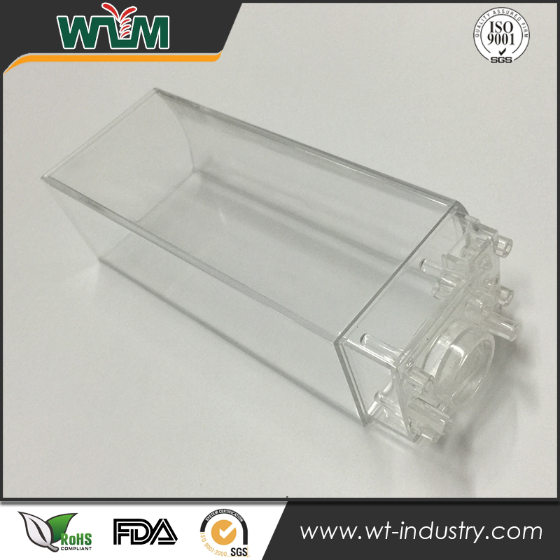 Clear PP <strong>injection</strong> plastic mold for music soundbox cover mould