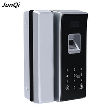 High quality anti-theft keyless fingerprint smart glass door lock