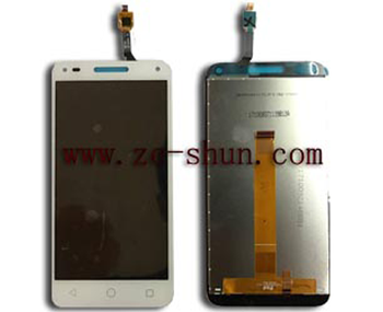 cell phone lcd screen for Alcatel U5 3G 4047 complete White