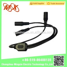 Car Radio Antenna Splitter Y Adapter 3 female jack