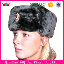 Winter Warm Russian Military Ushanka Hat with Earflap for Men Womens