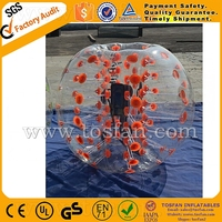 1.2m diameter TPU inflatable bubble ball for people bumper ball bubble soccer ball TB248