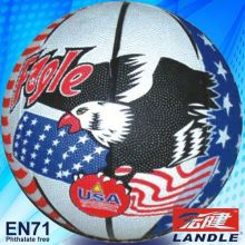 official size new style rubber made American basketball wholesale promotional basketball equipment