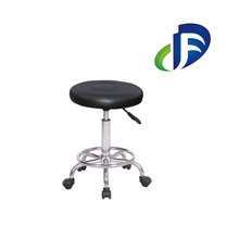 Adjustable height stainless steel lab stool chair