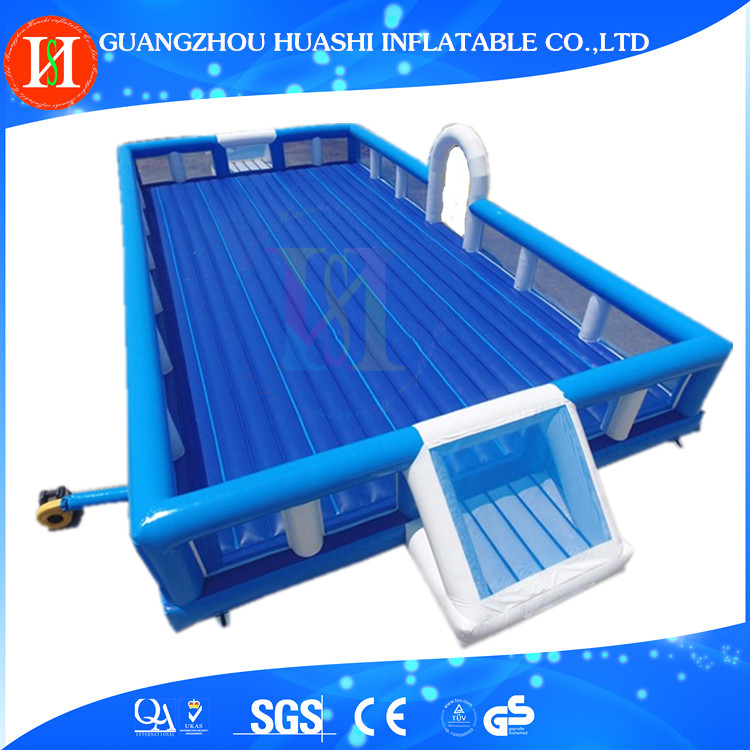 Giant Inflatable Soccer Field , Inflatable Football Pitch , Inflatable Football Arena / Court For adults